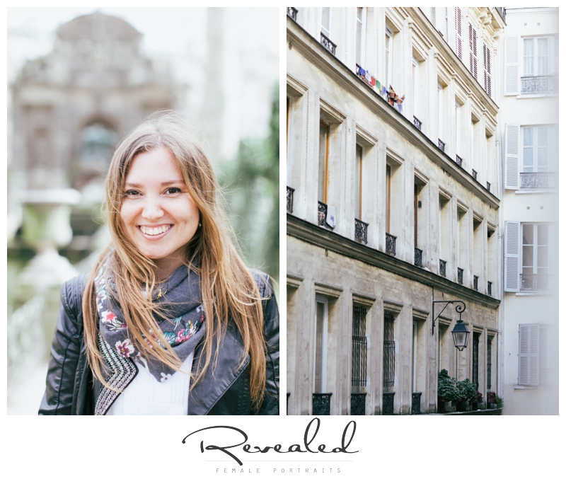 Casual portrait session in Paris by Revealed Photography