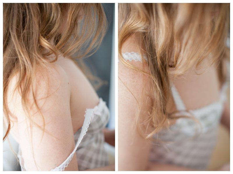 Revealed boudoir portrait by boudoir photographer Carina