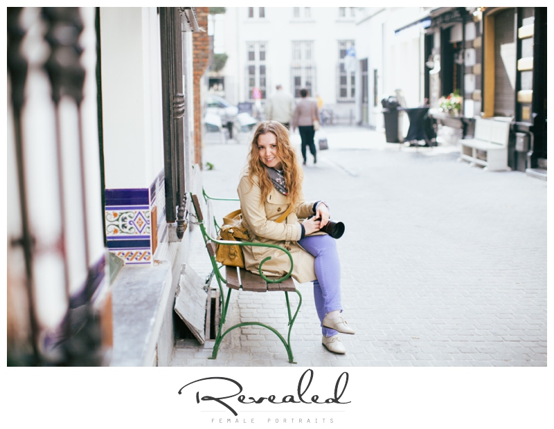 Casual portrait session in Antwerp by Revealed Photography